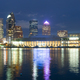 Urban Panoramic Downtwon City Skyline of Tampa Florida - PhotoDune Item for Sale