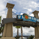 Florida Welcomes You Sign Southern USA Palm Trees - PhotoDune Item for Sale