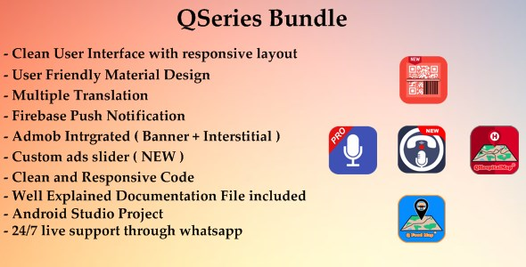 QBundle - 5 Apps | One File | Massive Discounts | Clean Code | Great Support            Nulled