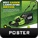 Garden Landscape Poster Template - GraphicRiver Item for Sale