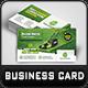 Garden Landscape Business Card Template - GraphicRiver Item for Sale