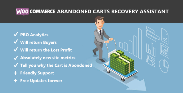 WooCommerce Abandoned Carts Recovery Assistant - CodeCanyon Item for Sale