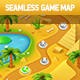 Seamless Desert Game Map - GraphicRiver Item for Sale