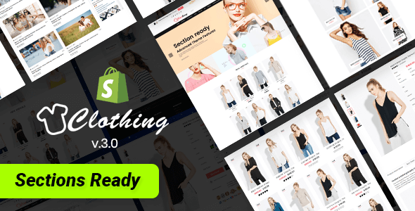 Clothing – Multipurpose Fashion Drag & Drop Sections Shopify Theme - Fashion Shopify