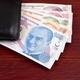Turkish Lira in the black wallet  - PhotoDune Item for Sale