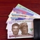 Nigerian Naira in the black wallet  - PhotoDune Item for Sale