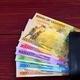 Ugandan Shilling in the black wallet  - PhotoDune Item for Sale