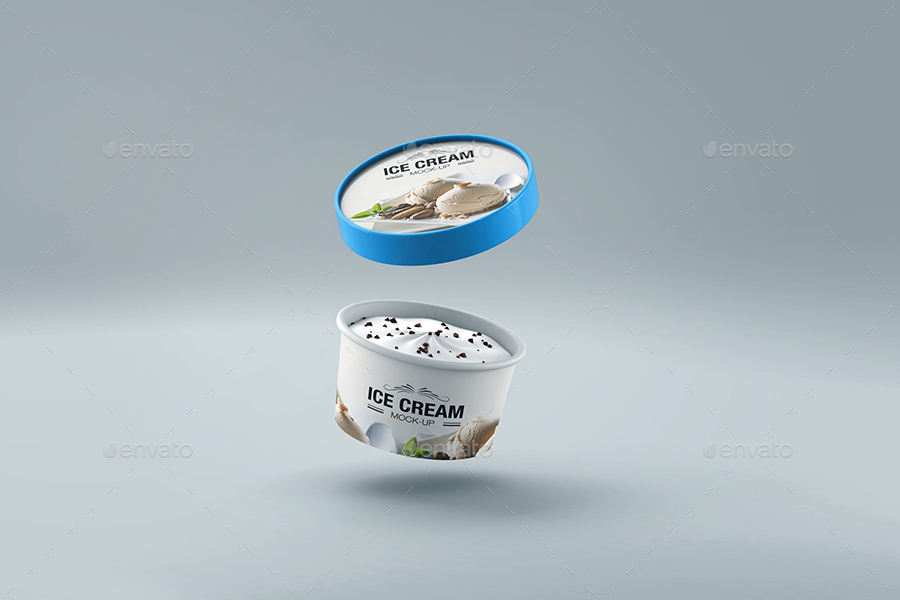 Ice Cream Cup Mock-up v1