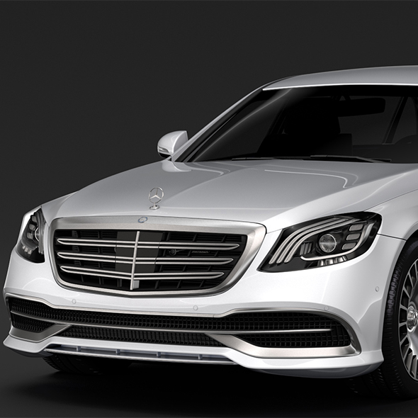 Mercedes Maybach S 650 Pullman VV222 2018 - 3DOcean Item for Sale