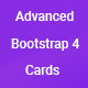 Advanced Bootstrap 4 Cards - CodeCanyon Item for Sale