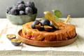 Plum Pie with Fresh Berries - PhotoDune Item for Sale