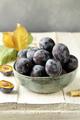 Ripe Organic Violet Plums - PhotoDune Item for Sale