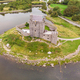Aerial View of Dungaire Castle in Ireland - PhotoDune Item for Sale