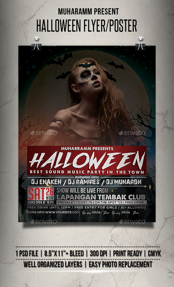 Hallowen Flyer / Poster - Events Flyers
