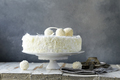 White Coconut Cake - PhotoDune Item for Sale