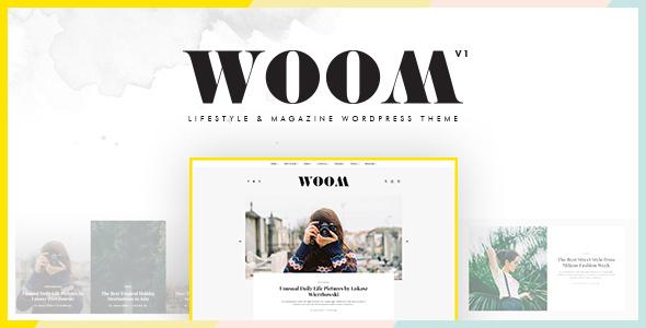 Woom - Lifestyle & Magazine WordPress Theme - Blog / Magazine WordPress