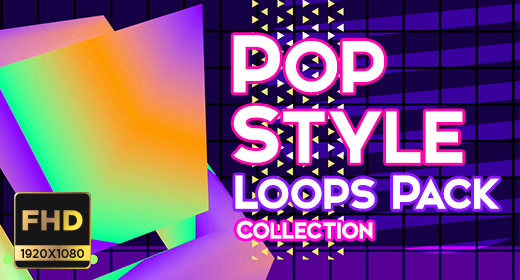 Pop Style Loops Collection Full HD