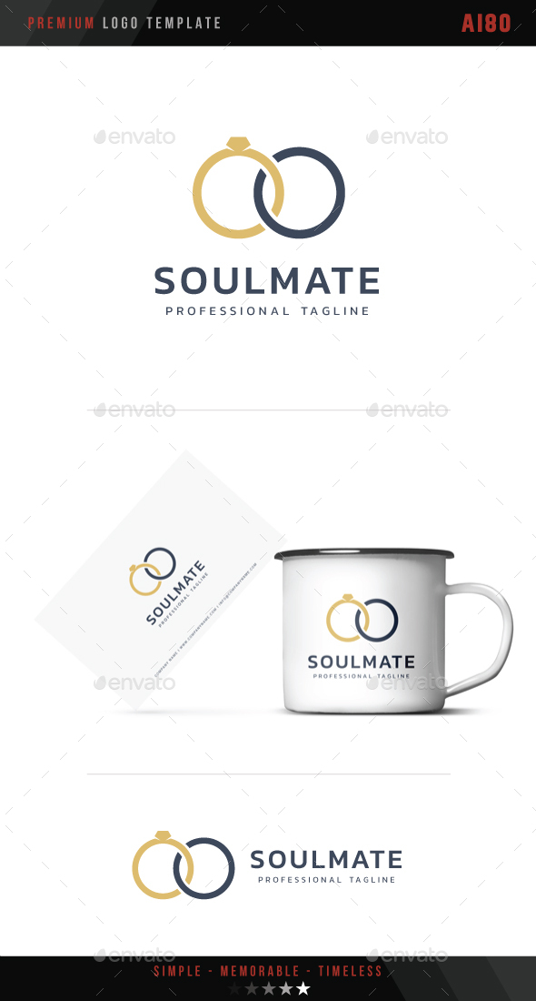 Soulmate Logo By Ai80 Graphicriver