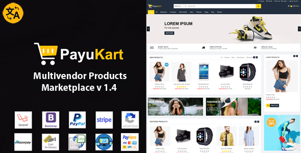 PayuKart Multivendor Products Marketplace - CodeCanyon Item for Sale
