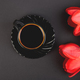Bouquet red tulips and cup of coffee - PhotoDune Item for Sale