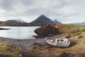 Typical Iceland landscape with ship - PhotoDune Item for Sale