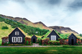 Traditional houses with grass on roof - PhotoDune Item for Sale