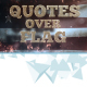 Quotes Over Flag - VideoHive Item for Sale