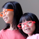 Two little sisters with big eyeglasses - PhotoDune Item for Sale