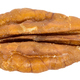 Close-up of pecan nut isolated on white background - PhotoDune Item for Sale