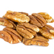 Heap of pecan nuts on white background - PhotoDune Item for Sale