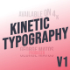 Kinetic Typography - Physics Reinvented - VideoHive Item for Sale