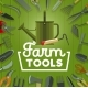 Farm Tools and Gardening Equipment - GraphicRiver Item for Sale