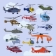 Helicopter Vectors - GraphicRiver Item for Sale
