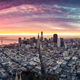 Aerial Panoramic View of San Francisco Skyline at Sunrise - PhotoDune Item for Sale