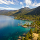 Aerial View of Lake Tahoe Shoreline - PhotoDune Item for Sale