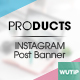 10 Instagram Post Banner-Products Vol02 - GraphicRiver Item for Sale