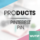 10 Pinterest Pin Banner-Products Vol02 - GraphicRiver Item for Sale