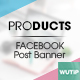 20 Facebook Post Banner - Products Vol02 - GraphicRiver Item for Sale