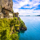 Hermitage or Eremo of Santa Caterina del Sasso monastery. Maggio - PhotoDune Item for Sale