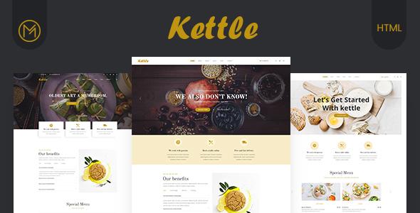 Kettle - Restaurant & Food HTML5 Template