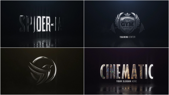 Cinematic Hero Logo - Project for After Effects (Videohive) - Free download