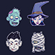 Halloween Monster Set - GraphicRiver Item for Sale
