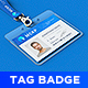 Lanyard / Name Tag Badge MockUp - GraphicRiver Item for Sale