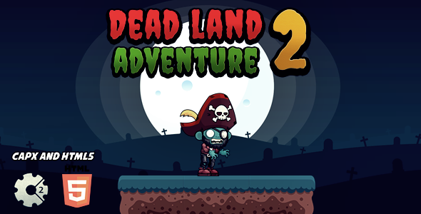 Dead Land Adventure 2 - CodeCanyon Item for Sale