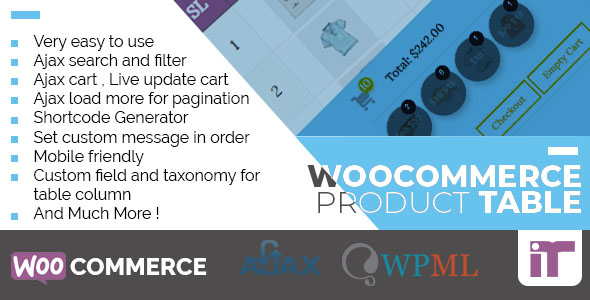 WooCommerce Product Table            Nulled