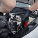 Car detailing maintaince cleaning engine with the foam and a brush - PhotoDune Item for Sale