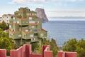 Spanish mediterranean coastline in Alicante. Calpe. La Manzanera. Arquitecture. Spain - PhotoDune Item for Sale