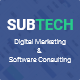 SubTech - Digital Marketing and Software Consulting Template - ThemeForest Item for Sale
