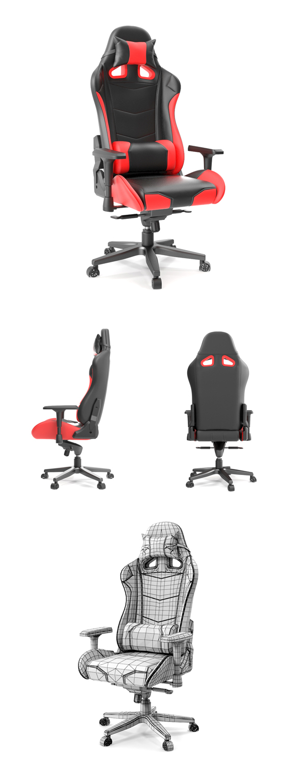 OPChair Computer Gaming Chair - 3DOcean Item for Sale
