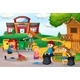 Volunteer Kids Collecting Trash At School - GraphicRiver Item for Sale
